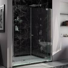 dreamline showers pivot shower door