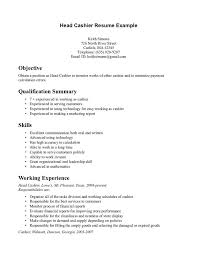 Cashier Example Resume by 3 Different Types Of Resume Format Fast Food Cashier Resume