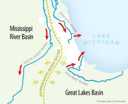 Map Of Great Lakes Restoring The Natural Divide