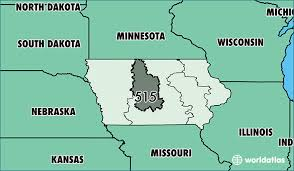 map of area codes where is area code 515 map of area code 515 des moines ia