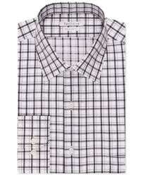 kenneth cole reaction extra slim fit wine plaid dress shirt