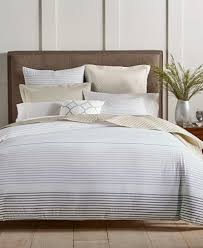 Taupe Duvet Charter Club Damask Designs Woven Stripe Taupe 300 Thread Count