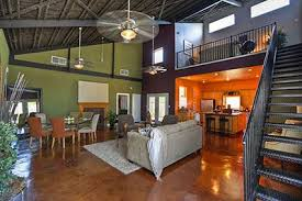 Barn Home Interiors by Metal Building Homes Interior A Metal Sided Pole Barn Interior