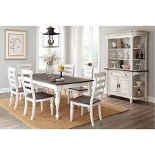 two tone dining room sets two tone french country 5 piece dining set bourbon county rc