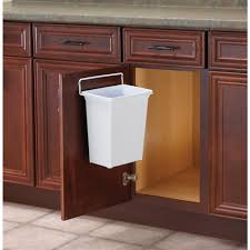 Kitchen Trash Can Ideas Door Mounted Kitchen Garbage Can Bibliafull Com