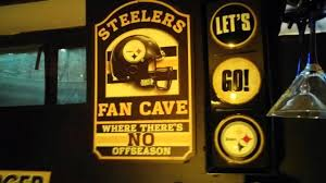 pittsburgh steelers man cave the best cave 26 best pittsburgh steelers football locker room mural images on