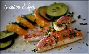cuisiner le rouget filets de rougets sauce à l orange rouget recette dietetique et