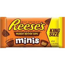 halloween reese s reese u0027s giant chocolate and peanut butter bar 6 8 oz walmart com