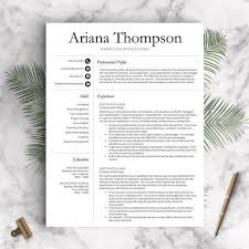 Professional Resume Templates Microsoft Word 178 Best Professional Resume Templates Images On Pinterest
