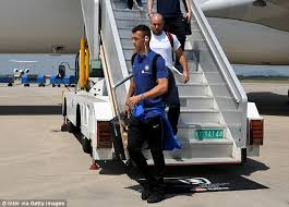 black friday target commercial man utd target ivan perisic arrives in china with inter daily