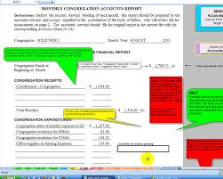 Accounting Spreadsheets Excel Congregation Accounts Software Program Accounts Program Sheet