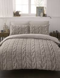 bedroom nice breathtaking cable knit bedding with luxury design