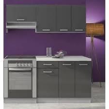 meuble de cuisine laqué meuble cuisine gris laque achat vente pas cher