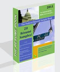 Federal Resume Samples by The Federal Resume Sample Book 20 Resume Samples E Book