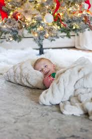 cozy for the holidays with pottery barn kiss me darling