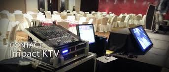 rent a karaoke machine contact impact ktv impact ktv the preferred karaoke system