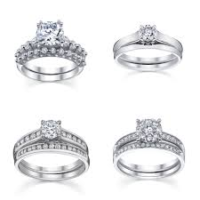engagement rings and wedding band sets how to coordinate your wedding band with your engagement ring
