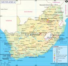 Where Is France On The Map South Africa Map Detailed Map Of South Africa
