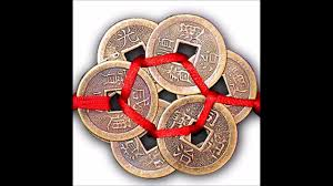 feng shui three chinese coins for wealth and good luck youtube