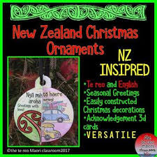 new zealand ornaments te reo and by michele