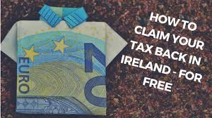 how to claim your tax back for free ireland p21 balancing