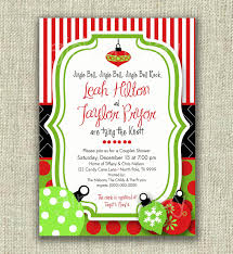 ornament exchange party invitations invitations for gender reveal