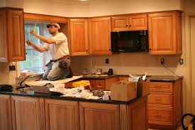 how to install your own cabinets what is the average cost to install kitchen cabinets