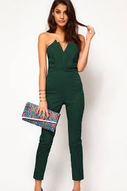 green jumpsuit 2018 2013 fashion green jumpsuit with pleated