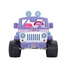 purple jeep power wheels nickelodeon dora and friends jeep wrangler 12 volt