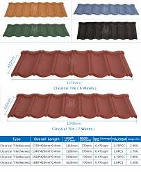 Roof Tile Colors Metal Roof Tiles Prices