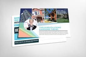 20 real estate postcard template psd design graphic cloud