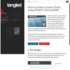 design form using php how to create a contact form using html5 css3 and php pearltrees