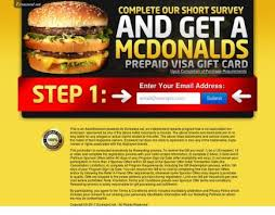 mcdonalds e gift card mcdonalds gift card email submit affiliate programs offers