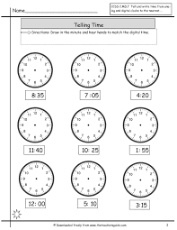 Time Management Worksheet Free Math Printouts From The Teacher U0027s Guide