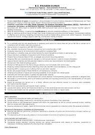 Maintence Resume Praveen Kumar Resume