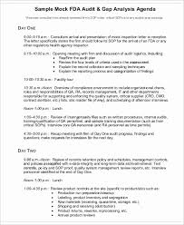 9 sample audit agenda free sample example format downlaod