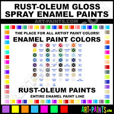 rust oleum gloss spray enamel paint colors rust oleum gloss