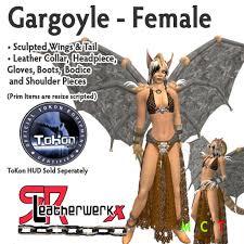 Gargoyle Costume Second Life Marketplace Srl Gargoyle Female Box