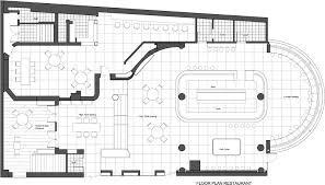 floor plan of a restaurant and bar decohome