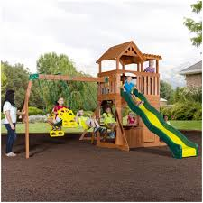 backyards wonderful backyard wooden playsets backyard images