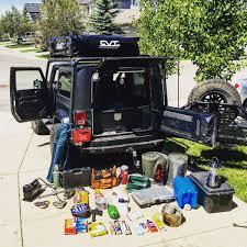 storage solutions overlanding with a 2 door jeep wrangler u2013 the