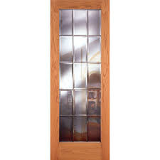 reliabilt full lite solid wood clear interior slab door lowe u0027s