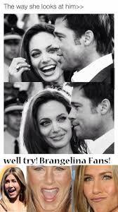 Angelina Jolie Meme - 10 jennifer aniston brad pitt angelina jolie funny celebrity memes
