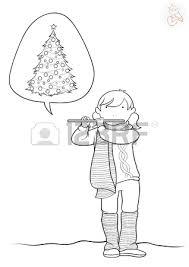 cheerful children playing sleigh village covered