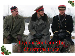 joyeux noel and the christmas truce british and german soldiers