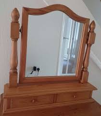 dressing table with mirror and drawers pine dressing table mirror vanity mirror freestanding mirror