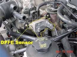 egr valve check engine light solved looking for location of egr valve on 03 ford e350 fixya