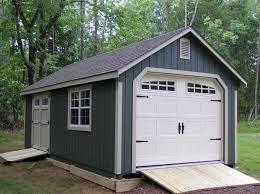 backyard garage backyard guide garden shed garage door
