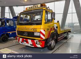 mercedes truck 2016 stuttgart germany march 19 2016 recovery truck mercedes benz