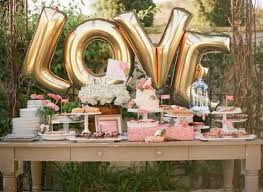 wedding backdrop letters 21 sweet balloon decorations for a bridal shower shelterness
